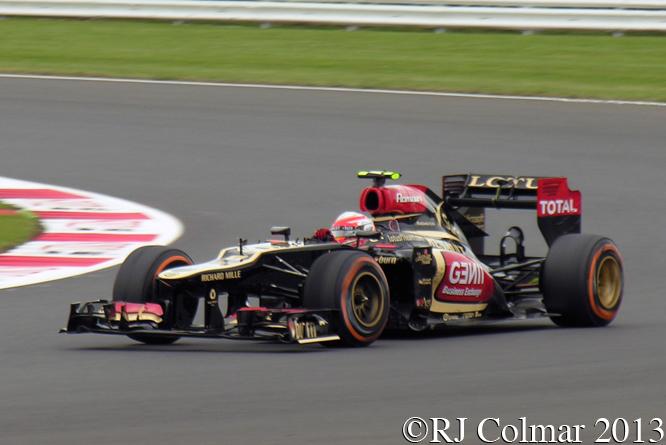 Lotus Renault E21, Grosjean, British Grand Prix P2, Silverstone