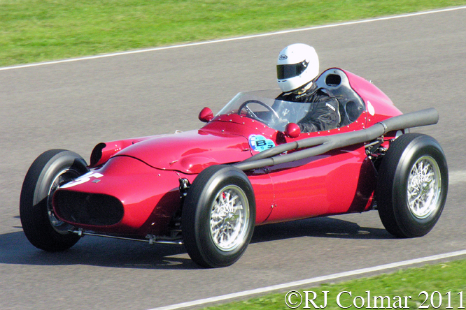 Tec-Mec F415, Barrie Baxter, Goodwood Revival
