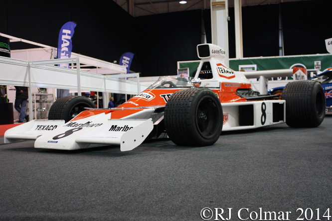 McLaren Cosworth M23, Race Retro, Stoneleigh