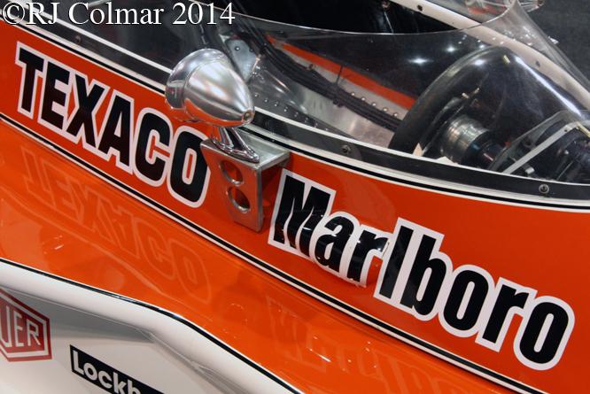 McLaren Cosworth M23, Race Retro, Stoneleigh