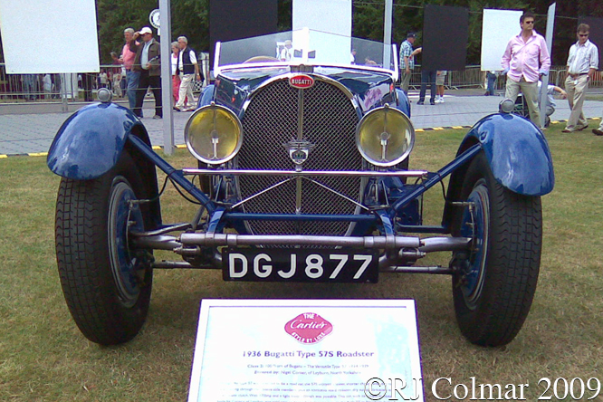 Bugatti Type 57S, Goodwood Festival of Speed