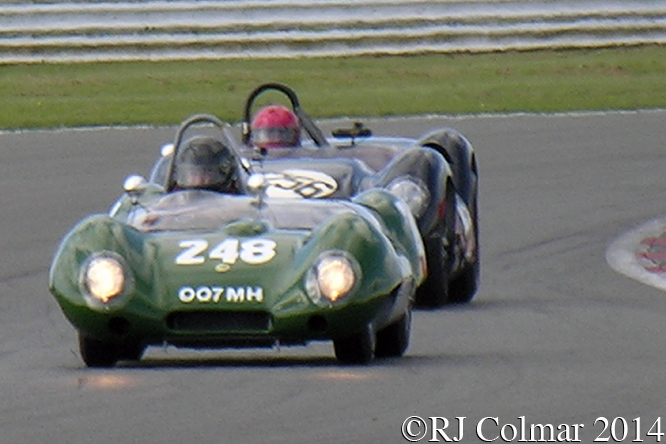 50's Sports Racing, Horsman, Wood, VSCC Spring Start, Silverstone