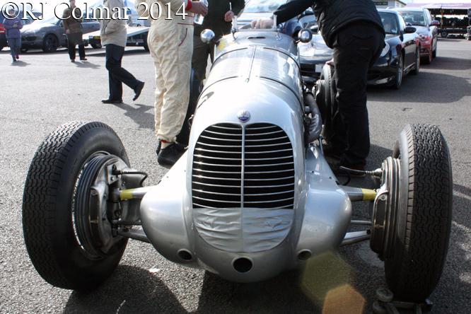 Maserati 6CM, VSCC Spring Start, Silverstone