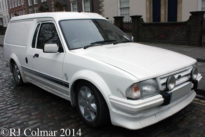 Ford Escort RS Van, Avenue Drivers Club, Queen Square, Bristol