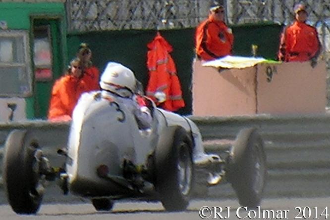 Maserati 6CM, Lockie, VSCC Spring Start, Silverstone