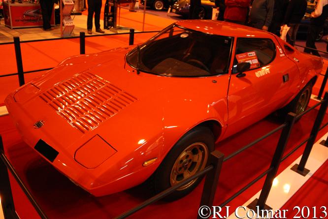 Lancia Stratos Stradale, Classic Motor Show, NEC, Birmingham