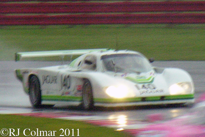 Jaguar XJR5, Miles, Silverstone Classic
