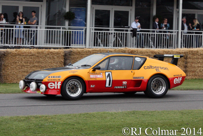 Alpine A310, Goodwood Festival of Speed