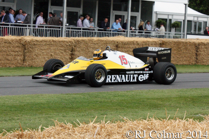 Renault RE 40, Goodwood Festival of Speed