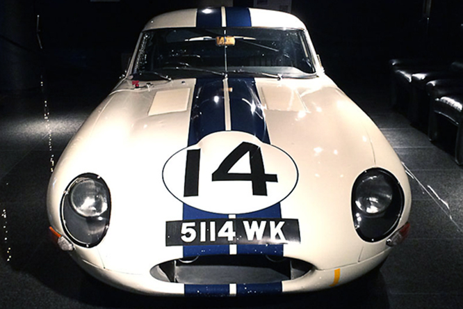 Jaguar, XK-E, Lightweight, Blackhawk Museum