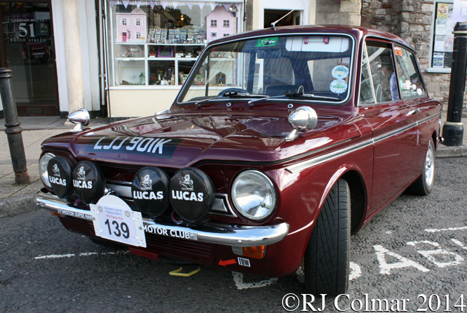 Hillman Super Imp, Classic Run, Chipping Sodbury