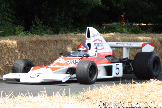McLaren M23, Fittipaldi, Goodwood Festival of Speed