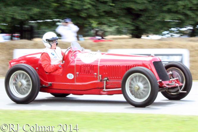Maserati 8C 3000, Berend, Goodwood Festival of Speed