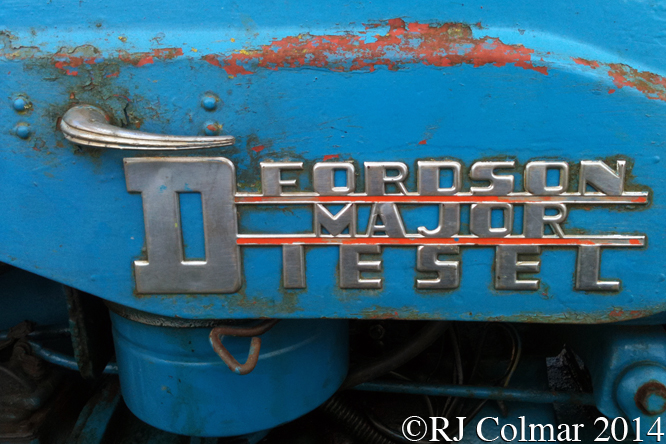 Fordson Major, Bristol and South Glos Stationary Engine Club Rally, Coalpit Heath