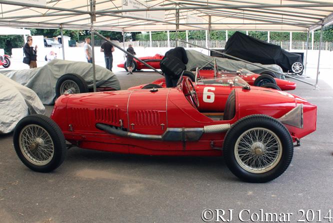 Maserati 8C 3000, Goodwood Festival of Speed