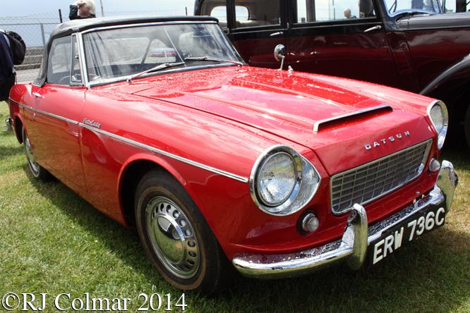 Datsun Fairlady 1500, Classic & Retro Action Day, Castle Combe