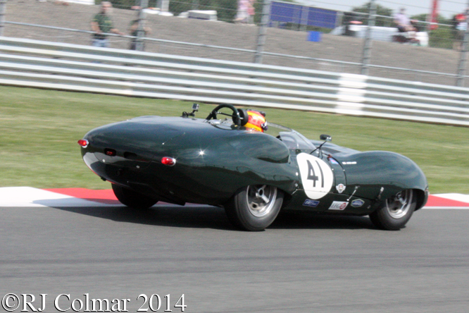 Lister Costin Jaguar, Ward, Silverstone Classic