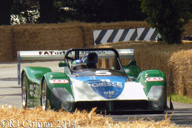 Ferrari 333SP, Pescatori,  Goodwood Festival of Speed