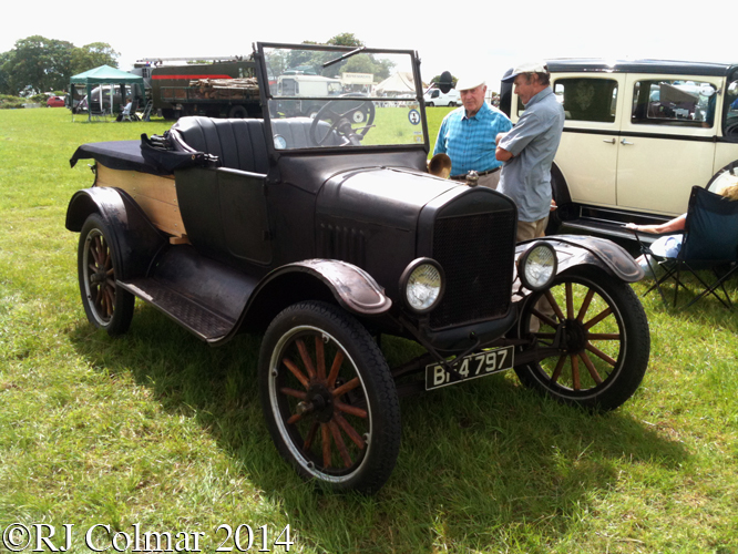Ford Model T, Bristol and South Glos Stationary Engine Club Rally, Coalpit Heath