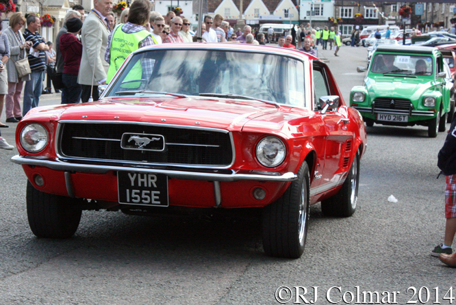 Ford Mustang, Classic Run Chipping Sodbury