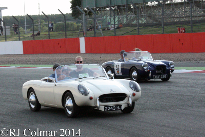 Berkeley Enthusiasts Club, Silverstone Classic,