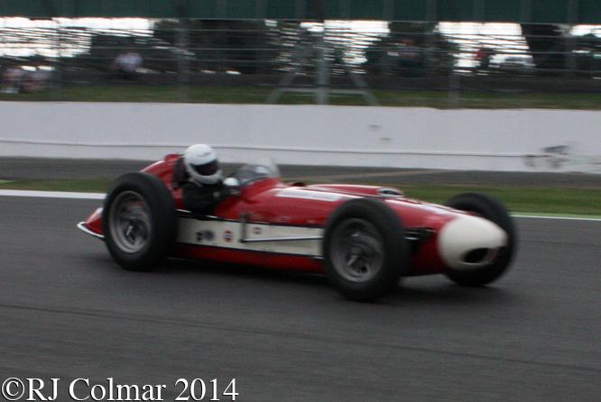 Kurtis KK500G, Fred Harper, Maserati Centenary, Silverstone Classic