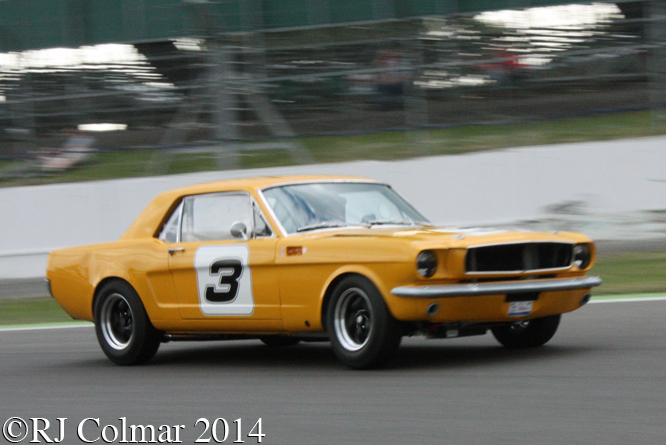 Ford Mustang, Jackie Oliver, Mustang Celebration Trophy, Silverstone Classic