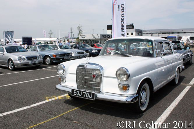 Mercedes Benz Club, Silverstone Classic