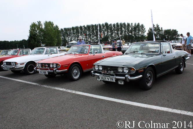 Stag Owners Club, Silverstone Classic