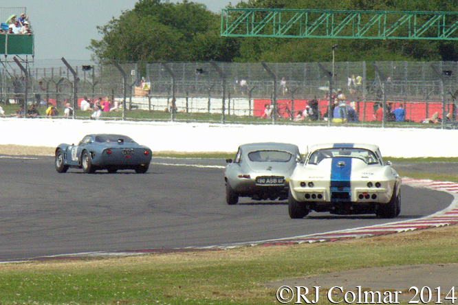 Bizzarini, Jaguar,  Corvette, Chopard International Trophy, Silverstone Classic