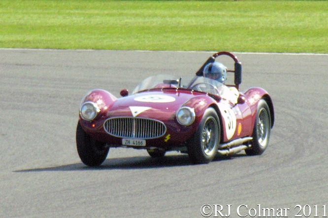 Maserati A6GCS, Hüni / Pearson, RAC Woodcote Trophy, Silverstone  Classic