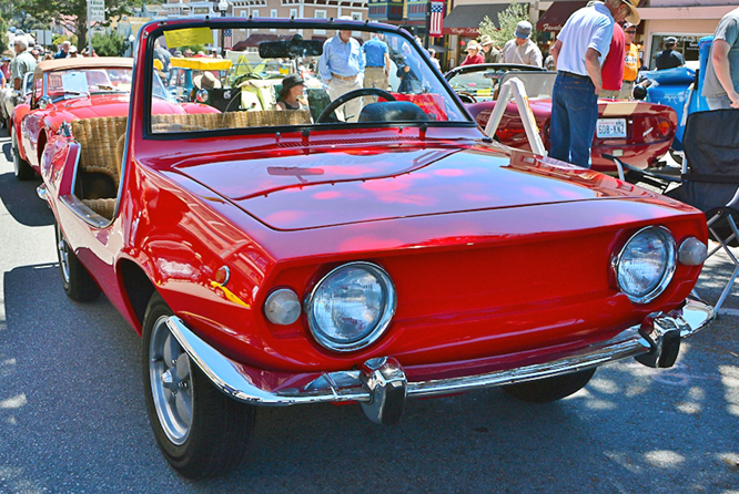 Michelotti Shellette, The Little Car Show, City Of Marina