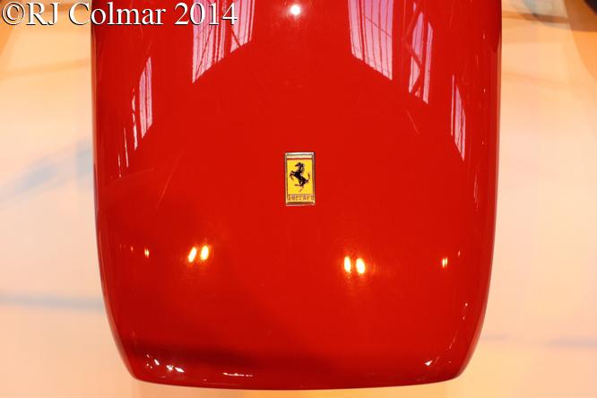 Ferrari 158, Autosport International, NEC, Birmingham