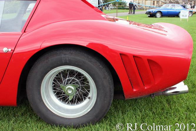 Ferrari 250 GTO Replica, Sherborne Castle