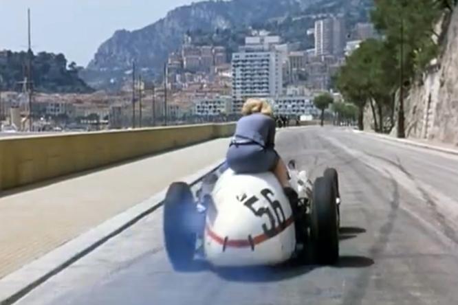 Maserati 250F, Romy Schneider, Monaco