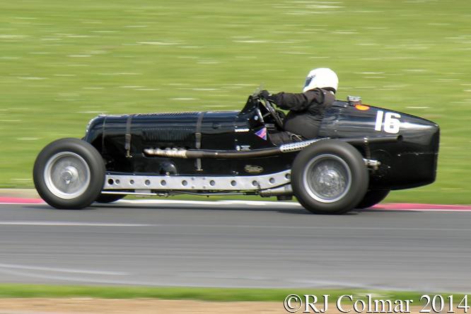 ERA R4D, Mac Hulbert, VSCC Spring Start, Silverstone,