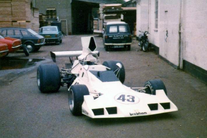 Brabham Chevrolet BT43, Brabham Chevrolet BT43, New Haw, Weybridge, Surrey, UK