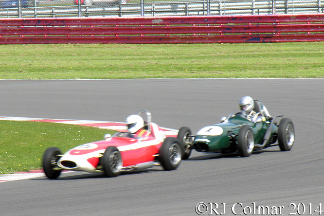 Lola, Goodliff, Elva, Woodhouse, VSCC Spring Start, Silverstone