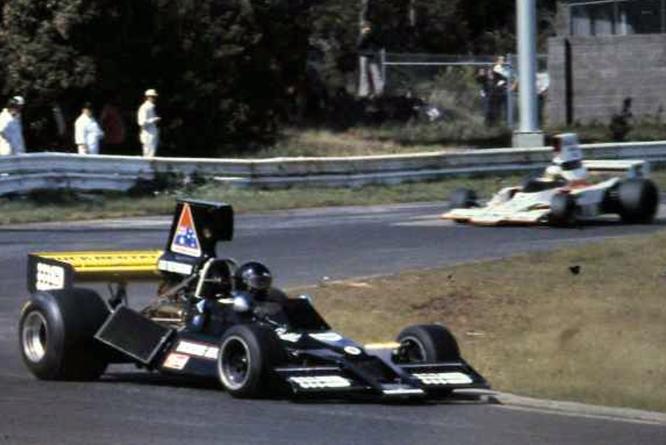 Brabham Chevrolet BT43, Kevin Bartlett, Sandown Park,