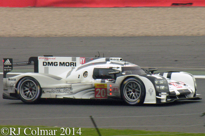 Benhard / Webber / Hartley, Porsche 919 Hybrid, 6 Hours of Silverstone