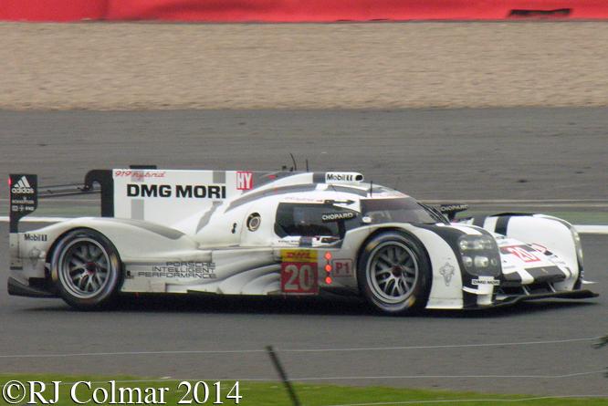 Benhard / Webber / Hartley, Porsche 919 Hybrid, 6 Hours of Silverstone