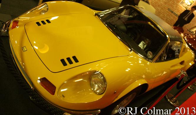 Ferrari Dino 246 GTS, Classic Motor Show, NEC, Birmingam