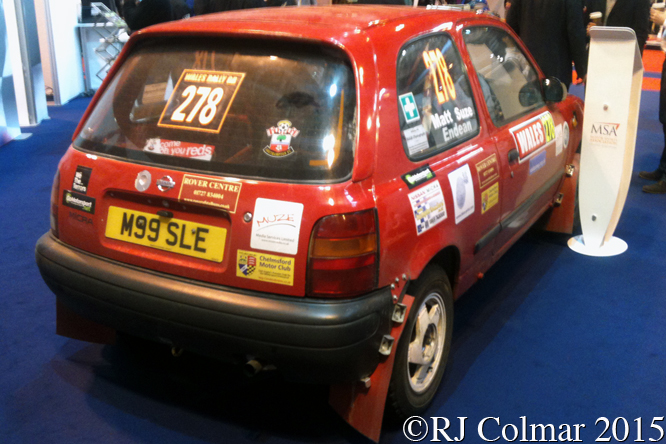 Nissan Micra, Autosport International