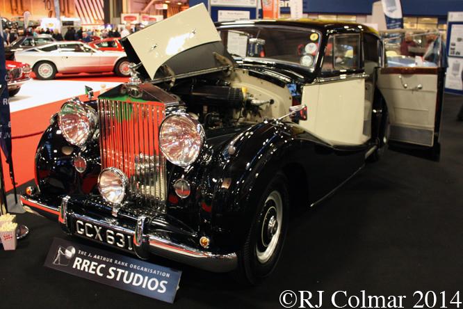 Rolls Royce Silver Wraith, Classic Motor Show, NEC, Birmingham