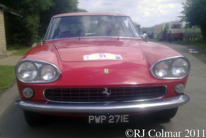 Ferrari 330GT, Anthony Moody, Tour Britannia, Castle Combe,