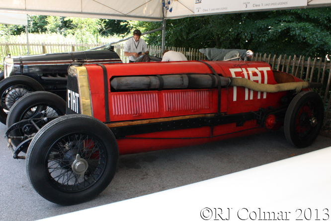 FIAT Mephistophele, Goodwood Festival of Speed,