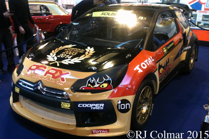 Citroën DS3 RX, Autosport International