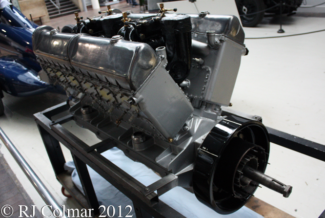 Sunbeam V12, National Motor Museum, Beaulieu