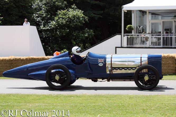 Sunbeam V12, Doug Hill, Goodwood Festival of Speed