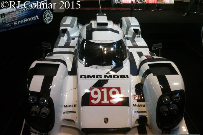 Porsche 919 Hybrid, Autosport International